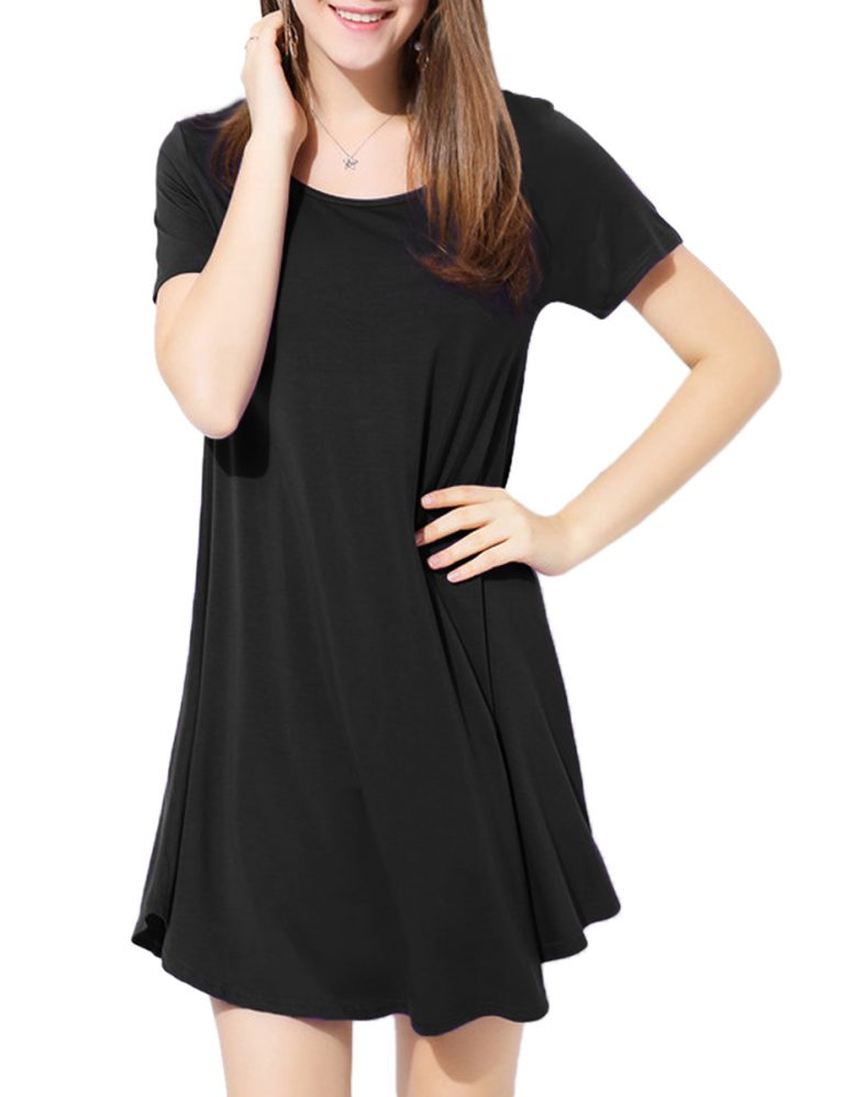 Swing Tshirt Dress Tunic Women Loose fit