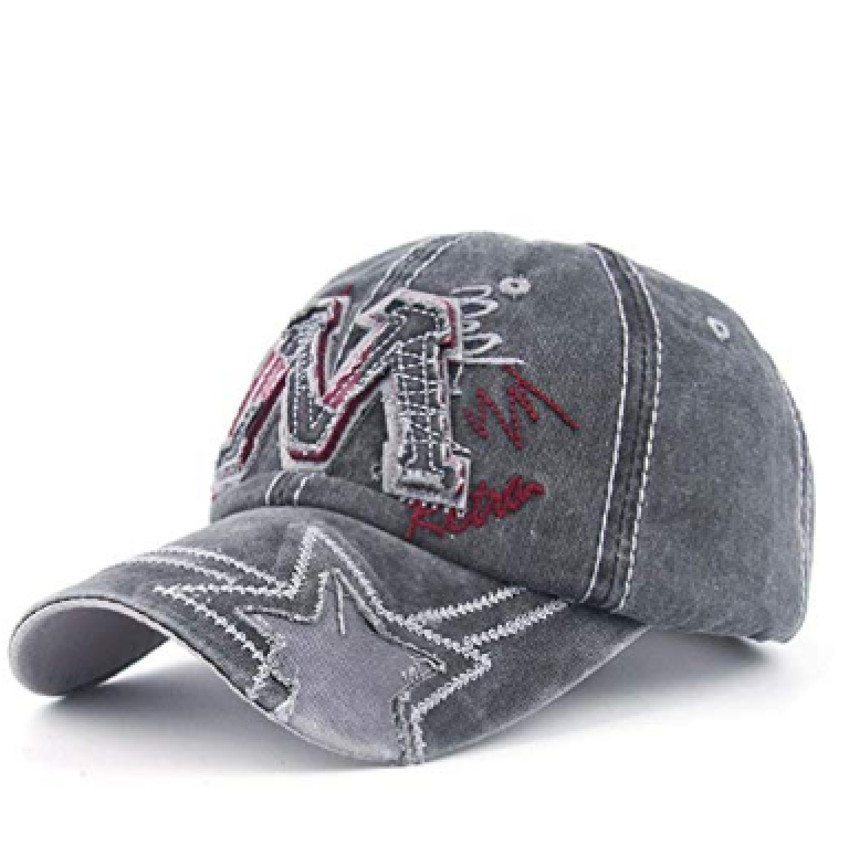Fashion Letter Embroidery Adjustable Baseball Hat Cap