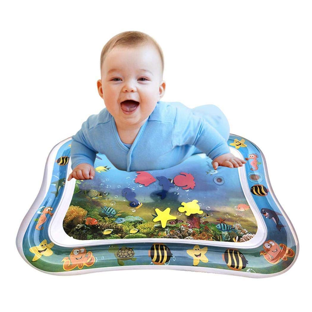 66cm x 50 cm Baby Water Play Mat Inflatable Leak Proof Play Lying Pad