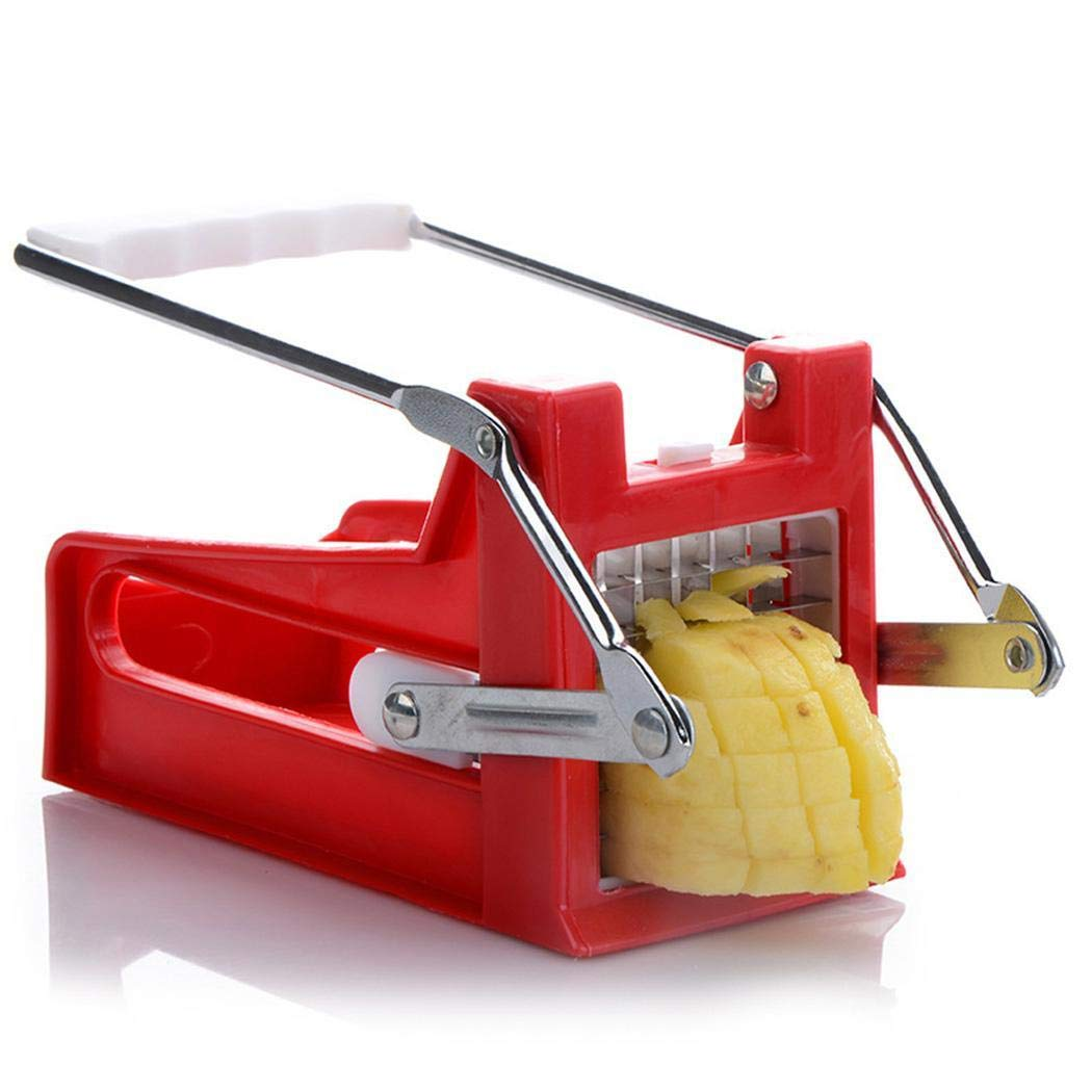 New Kitchen Hand Push Potato Cutter Daily Useful Cooking Tools