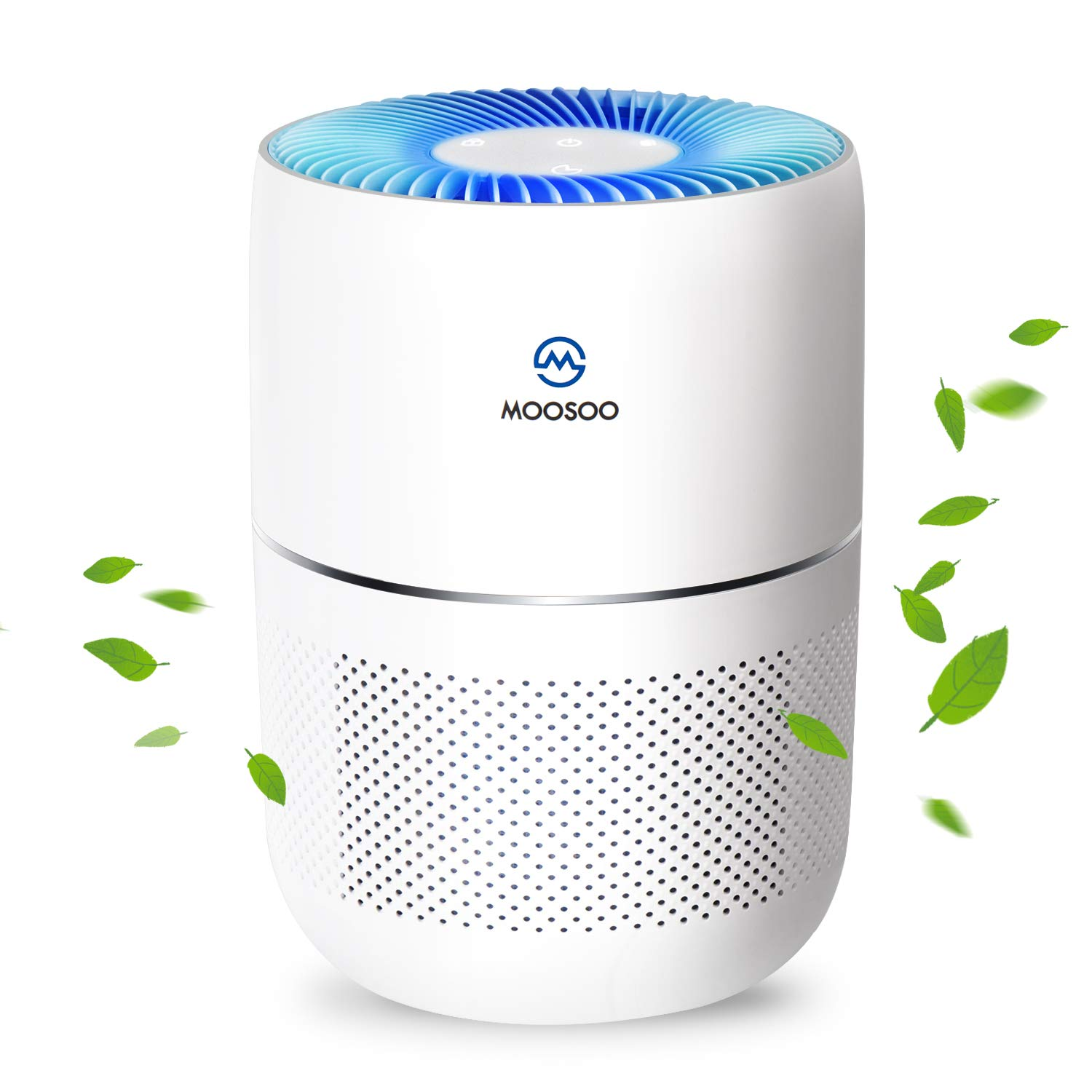 MooSoo Air Purifier 4 Stage Filtration System