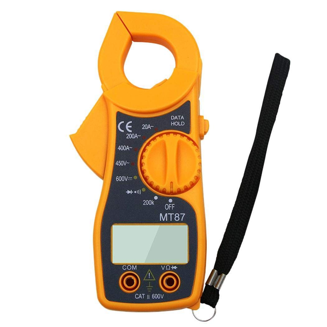 Kaimus LCD Digital Multimeter Clamp AC/DC Voltage Current Volt Amp Ohm Tester Meter Electrical Multimeters