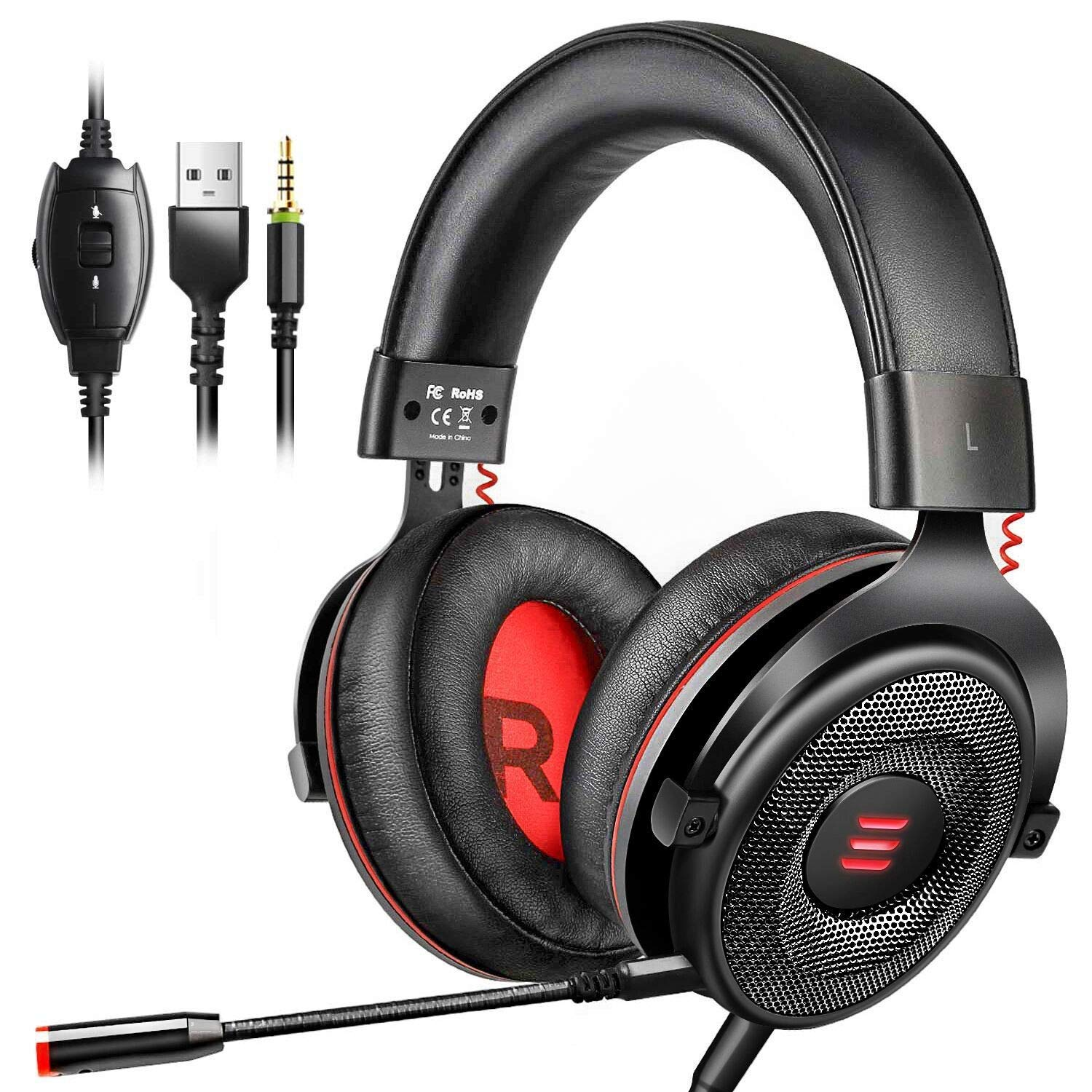7.1 Surround Sound Gaming Headset w/ FREE software driver
