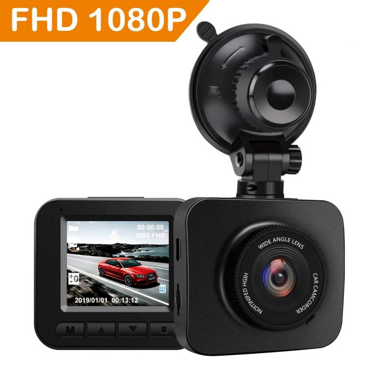 Q7 Dash Cam 2″ LCD Full HD 1080P
