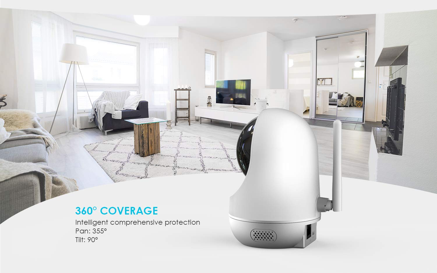 WiFi IP Camera Wireless Indoor Camera