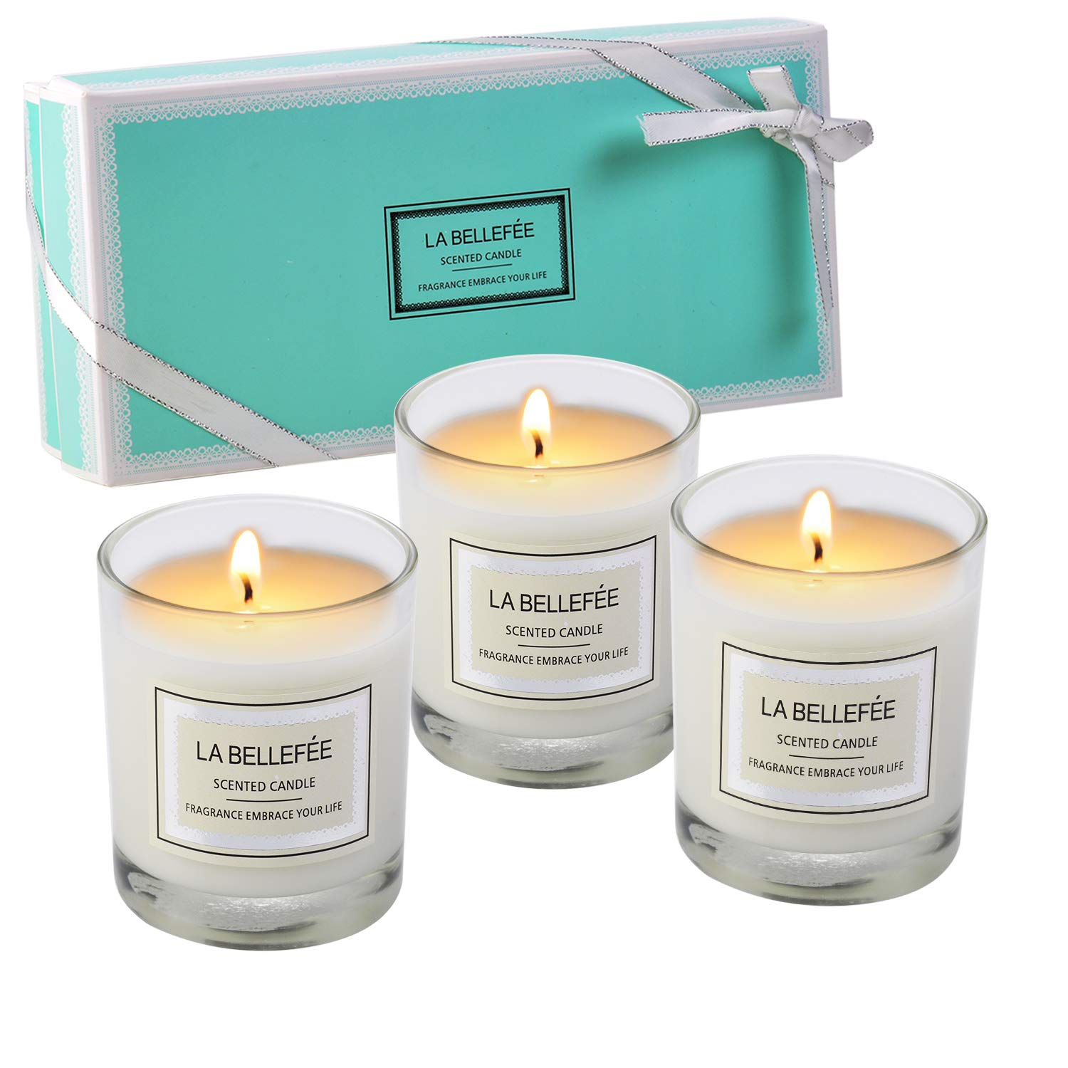 LA BELLEFÉE Scented Candles gift package Votive Candle Soy Wax Jar Candle