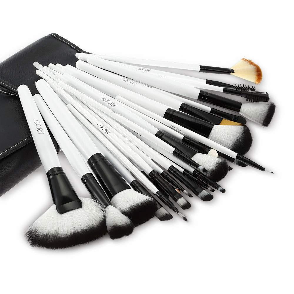 36Pcs Wood Makeup Brushes Kit