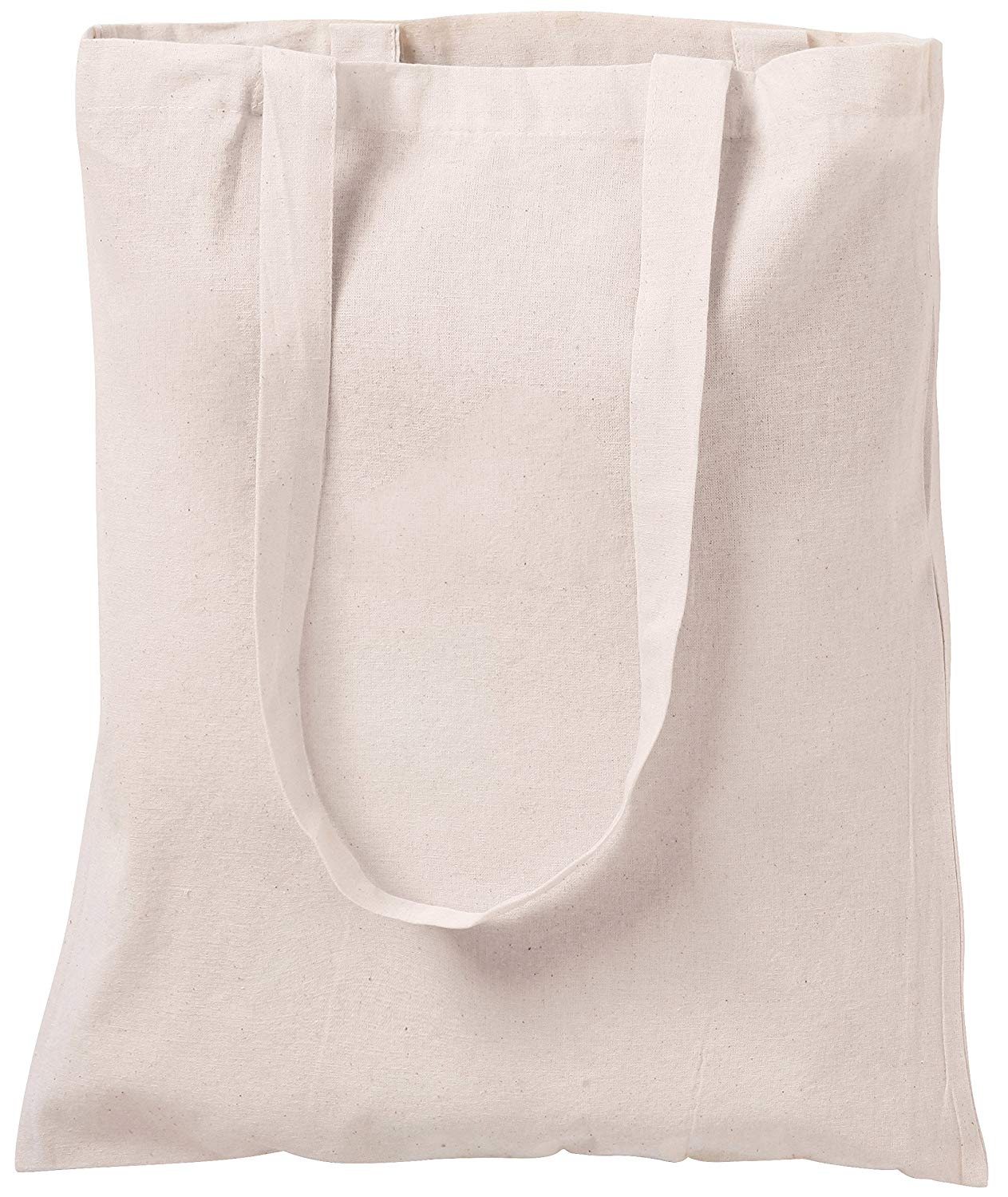 NATURAL COTTON TOTE BAGS SHOPPERS