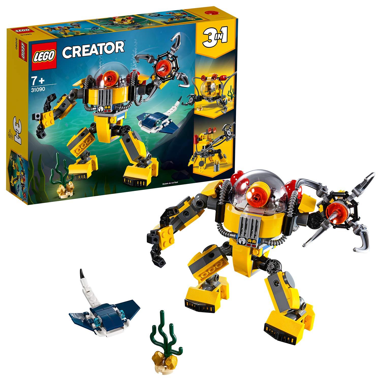 LEGO Creator 3-in-1 Underwater Robot Building Kit