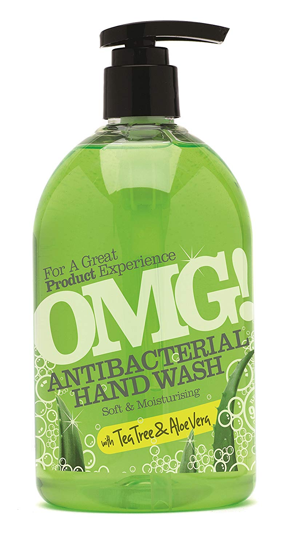 Anti Bacterial Hand Wash, Aloe Vera, 500 mL