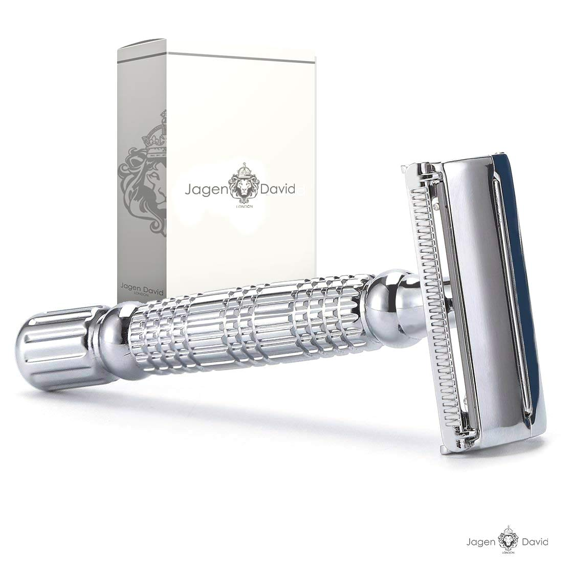 Safety Razor Butterfly Double Edge Compatible with All Standard Double Edge Razor Blades l