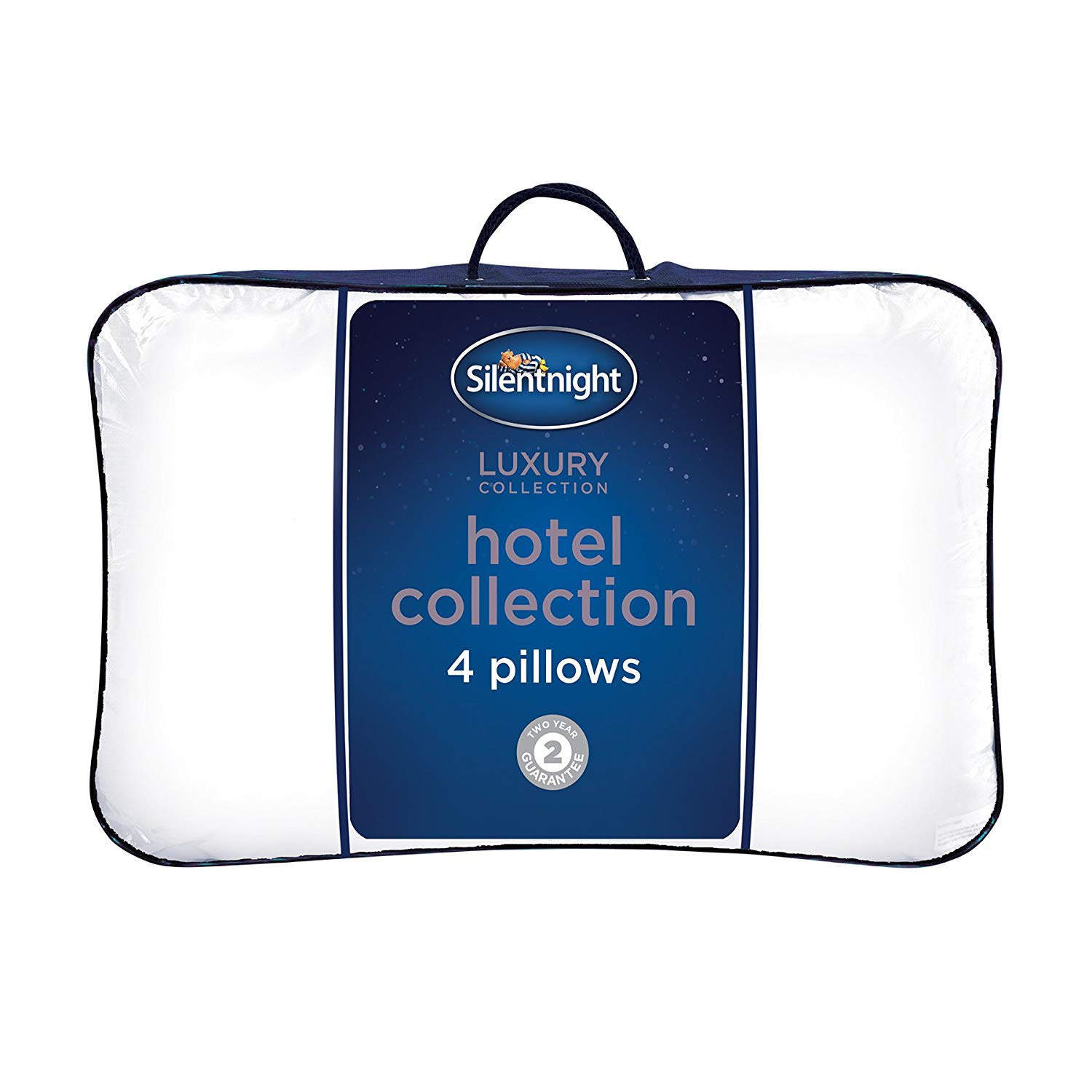 Silentnight Hotel Collection Pillow-Pack of 4, Microfibre