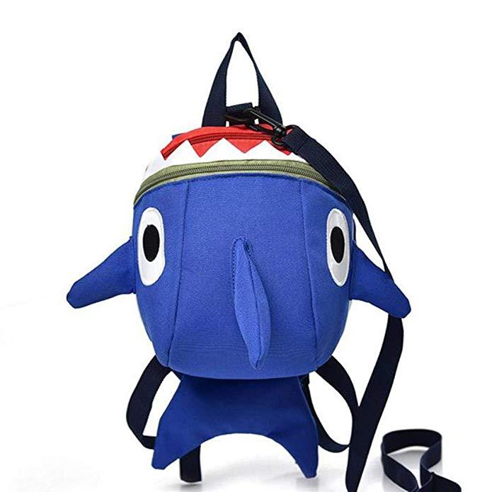 Students Cartoon Backpack Fashion Print Zip Bag