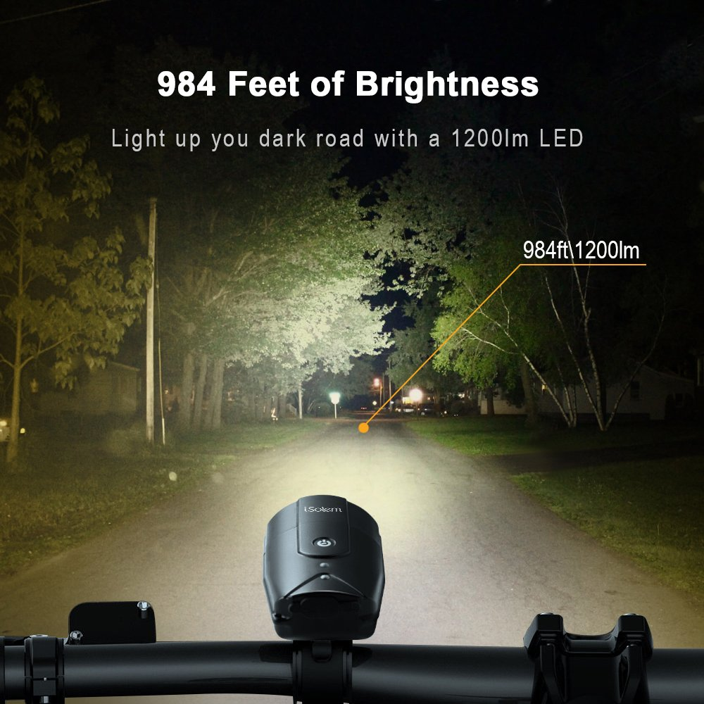 50% off iSolem Bike Lights Touch Sensor Switch