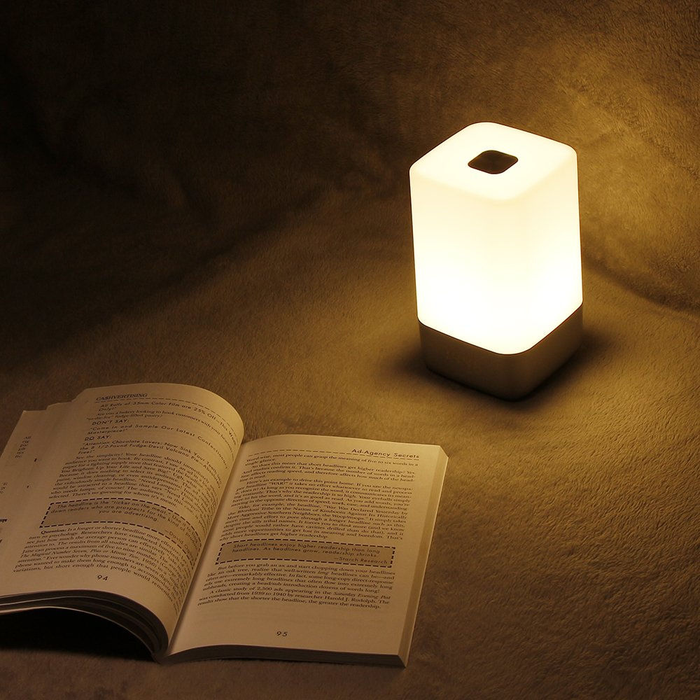 VADIV Wake Up Light Alarm Clock, WL01 Touch Sensor Bedside Lamp LED Night Light