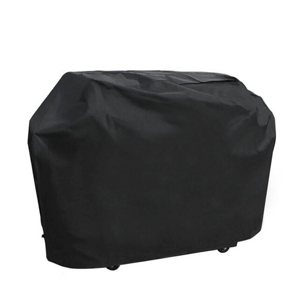 EBLSE Barbecue Cover, Outdoor BBQ Gas Grill Cover, Heavy Duty Breathable Oxford Cloth Waterproof Dustproof Anti-UV Grill Cover