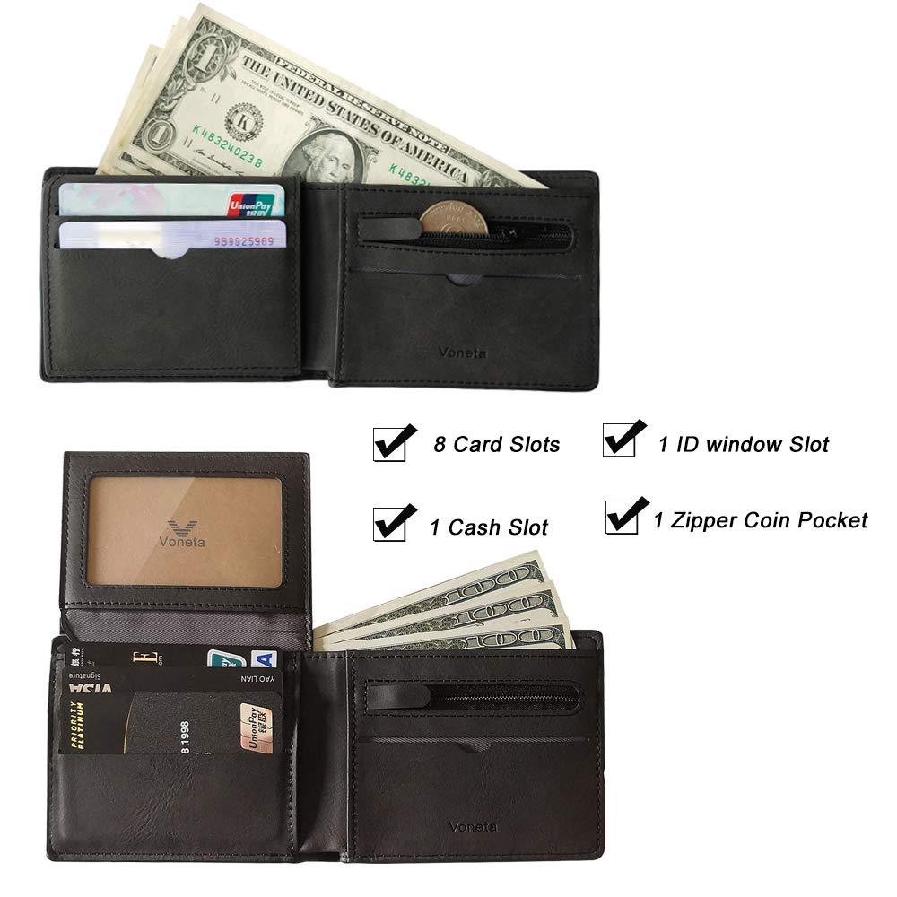 V001-Mens wallet -Black