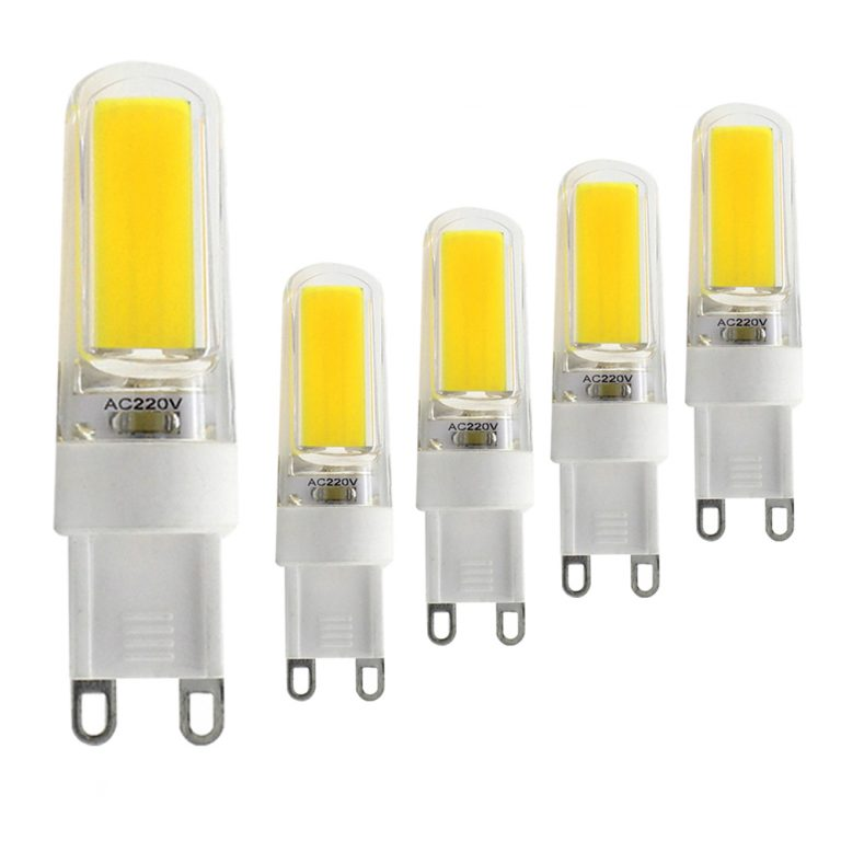 G9 Dimmable LED Bulb 5W (40W Halogen Equivalent) 380LM White (6000K) G9 Ceramic Base G9 Bulbs