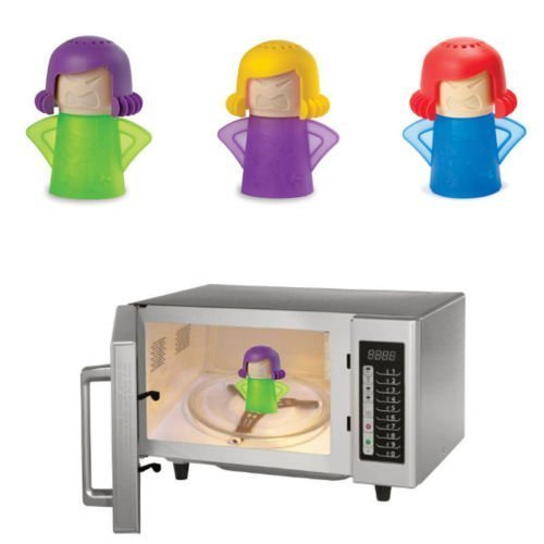 Microwave Cleaner New Metro Angry Mama Microwave Oven Fast Action Steam Cleaner, 1 pcs