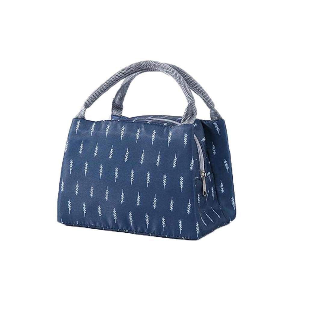 weihill Insulated Thermal Cooler Lunch Bag Handbag Pouch Picnic Storage Box Satchels