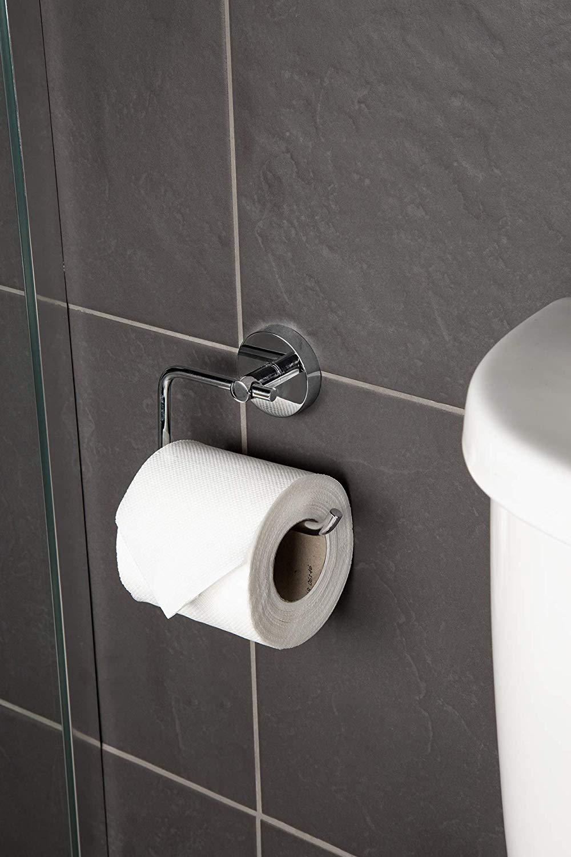 Croydex Flexi-Fix Pendle Toilet Roll Holder