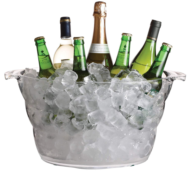 BarCraft Large Drinks Cooler Bucket, 10 L