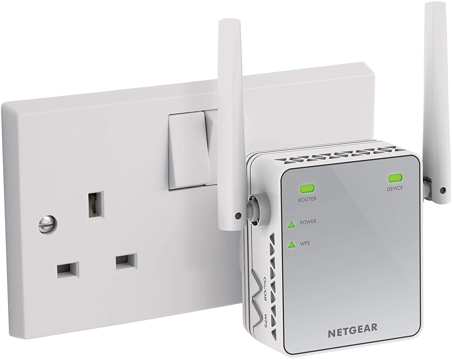 NETGEAR Wi-Fi Range Extender EX2700 – Coverage up to 600 sq.ft.