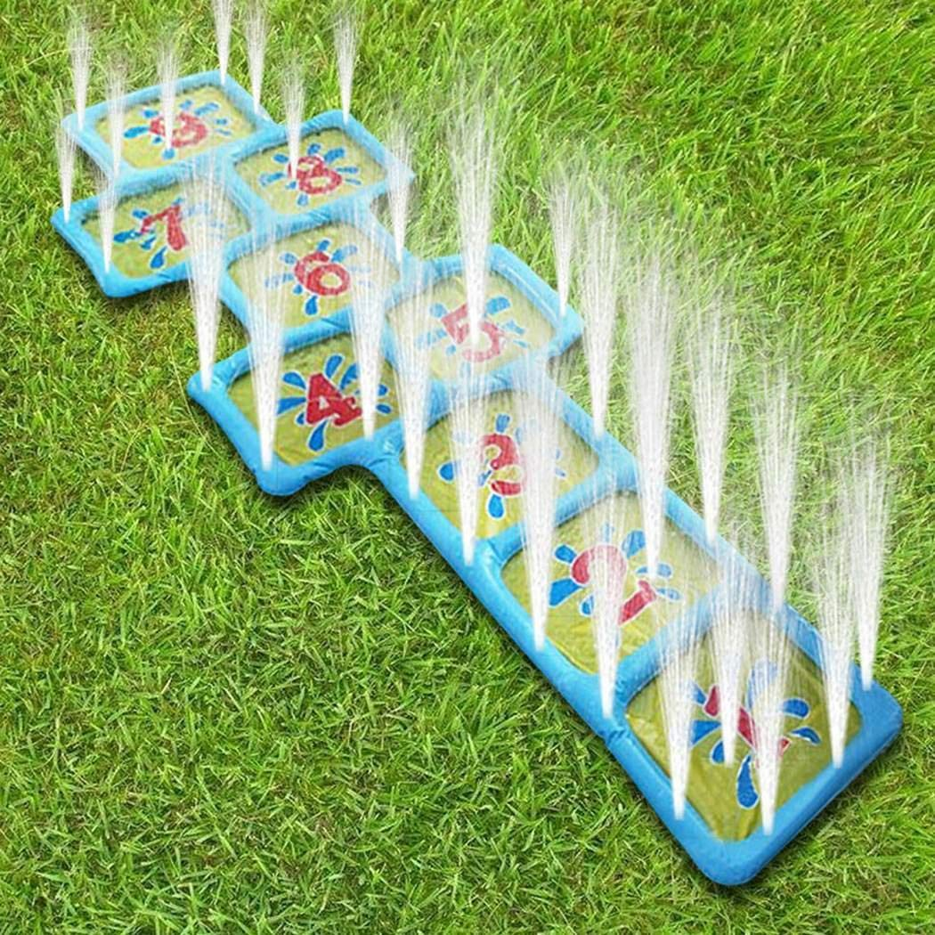 melysEU Inflatable Sprinkler Toy Summer Children Play Water Toy Inflatable Sprinkler Ball Outdoor Beach Lawn