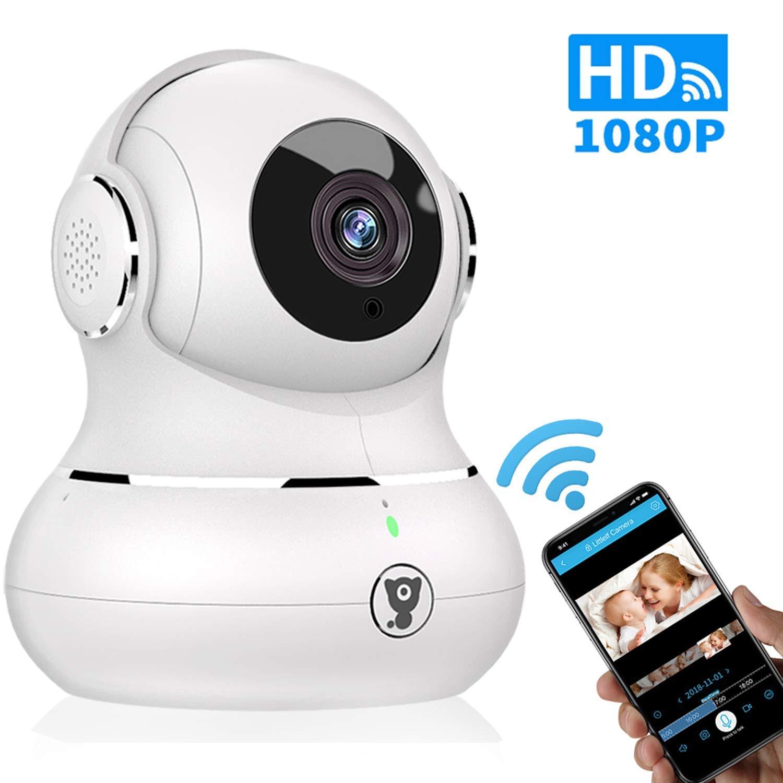Home Security Camera, Littlelf 1080P WiFi IP Indoor Surveillance Dome Camera