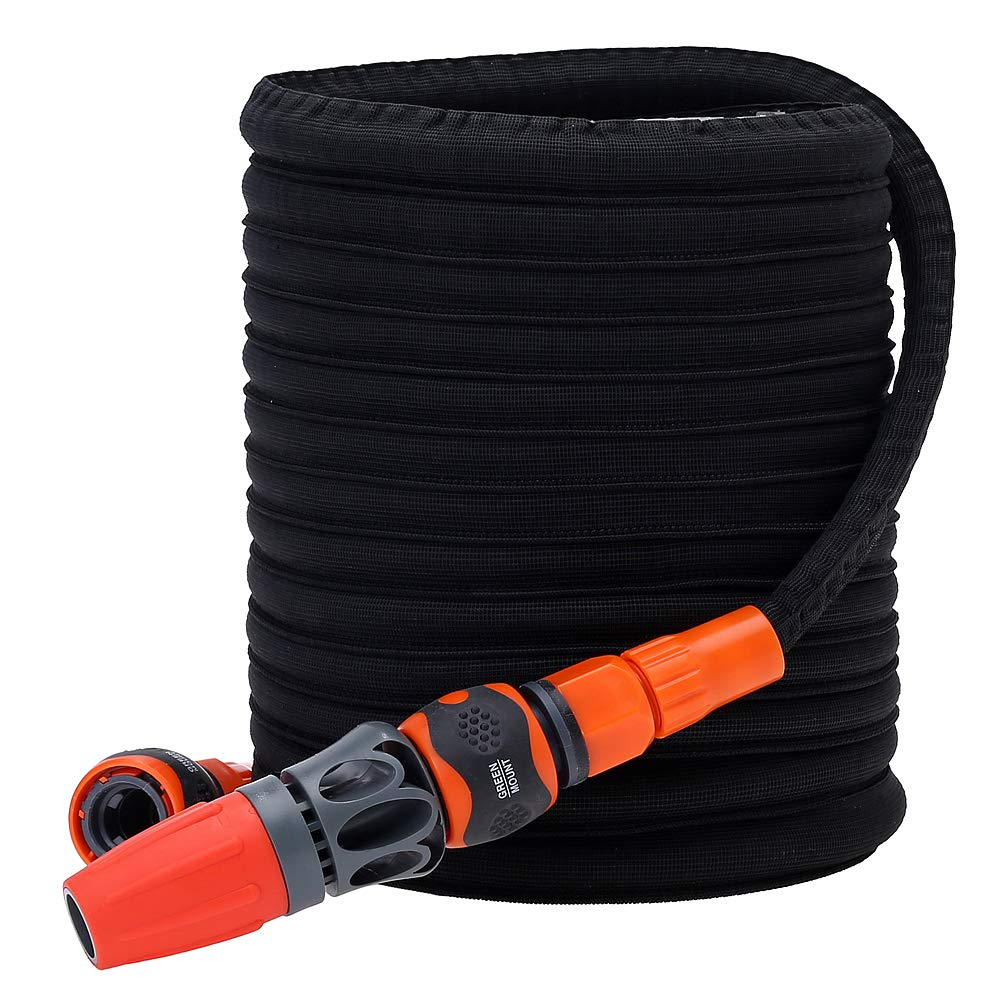 GREEN MOUNT 50ft Expandable Garden Hose Pipe
