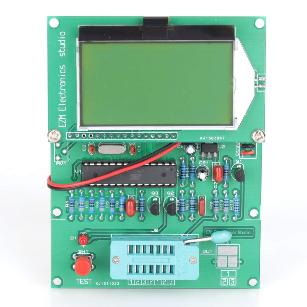 Yosoo GM328 LCD Big Display Transistor Tester ESR Meter Cymometer Square Wave Generator