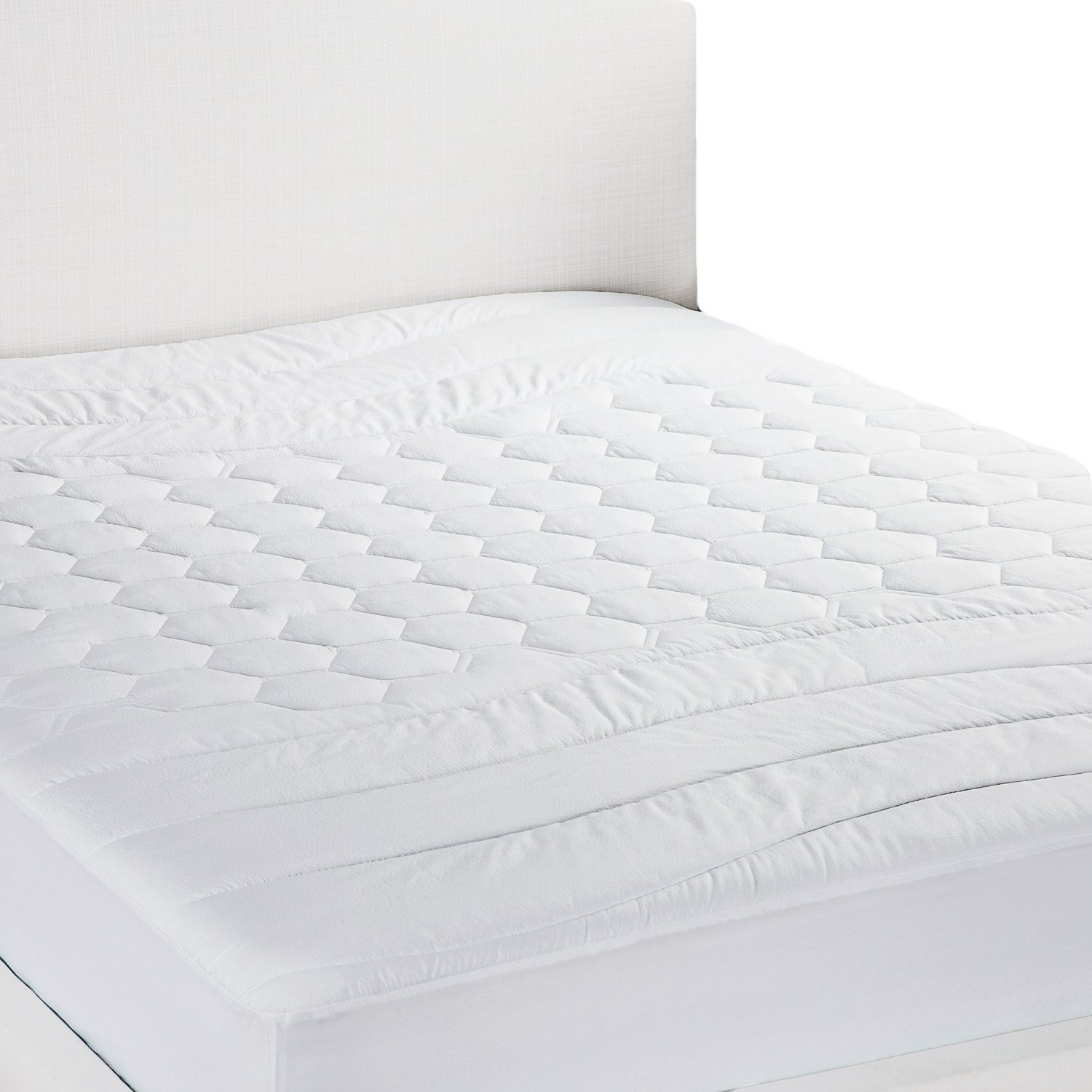 Bedsure Quilted Mattress Pad Protectors Double(135 x 190cm)