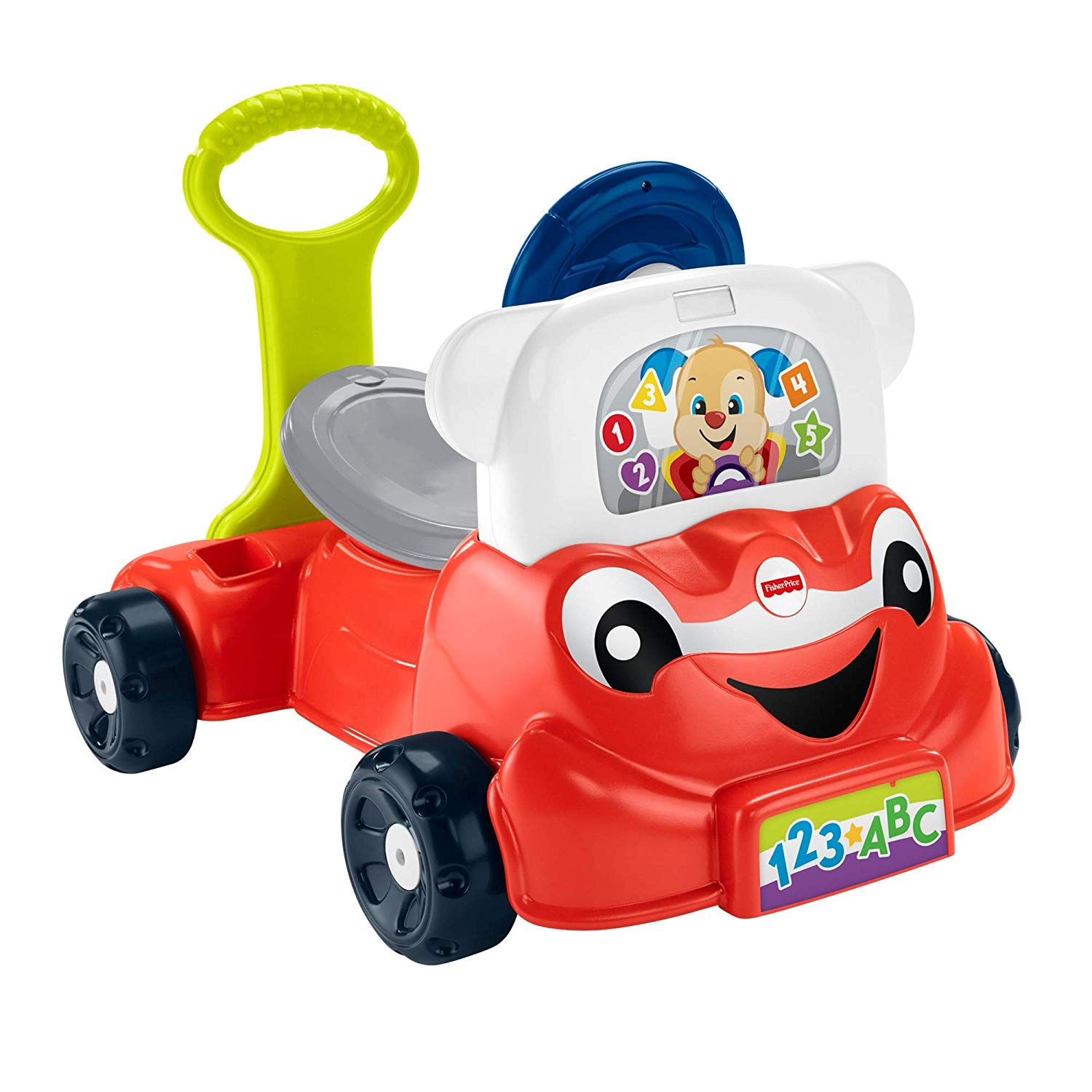 Fisher-Price GCY33 Laugh and Learn 3-in-1 Smart Car