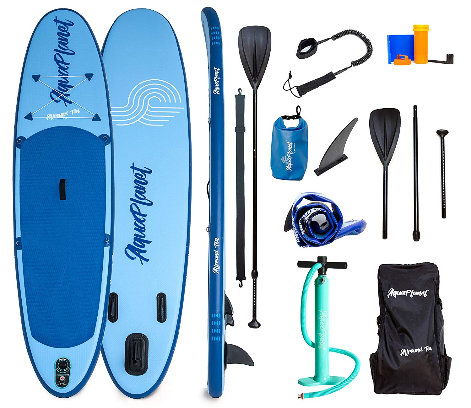 AQUAPLANET 10ft ALLROUND Paddle board – Beginner's Kit