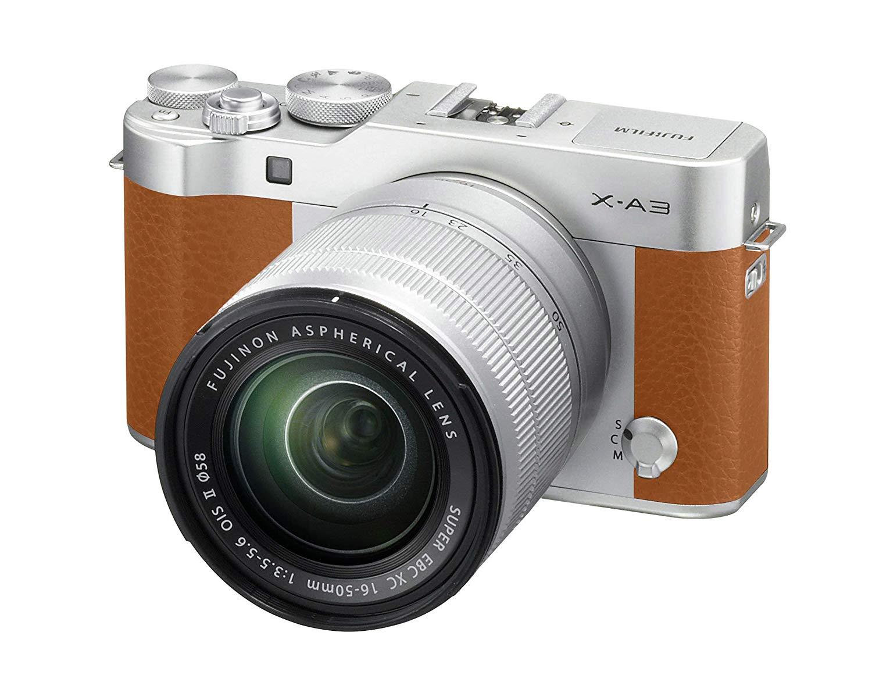 Fujifilm X-A3 XC16-50mm F3.5-5.6 OIS II Kit – Camel