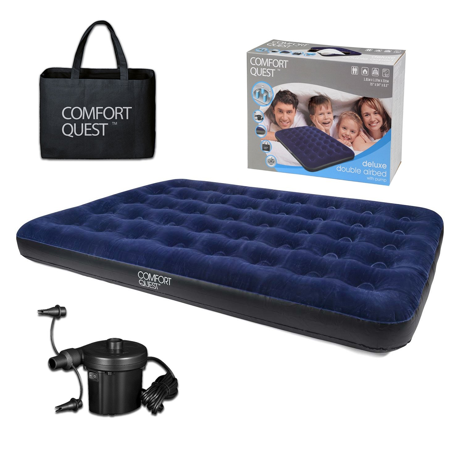Airbed Inflatable Blow Up Camping Mattress Guest Air Bed