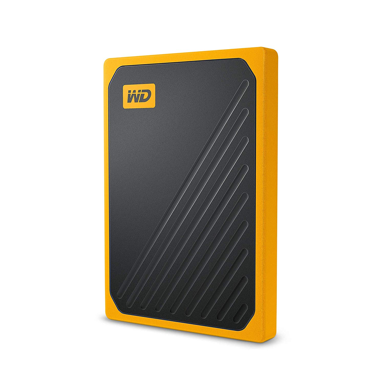 WD 500 GB My Passport Go Portable SSD – Amber Trim