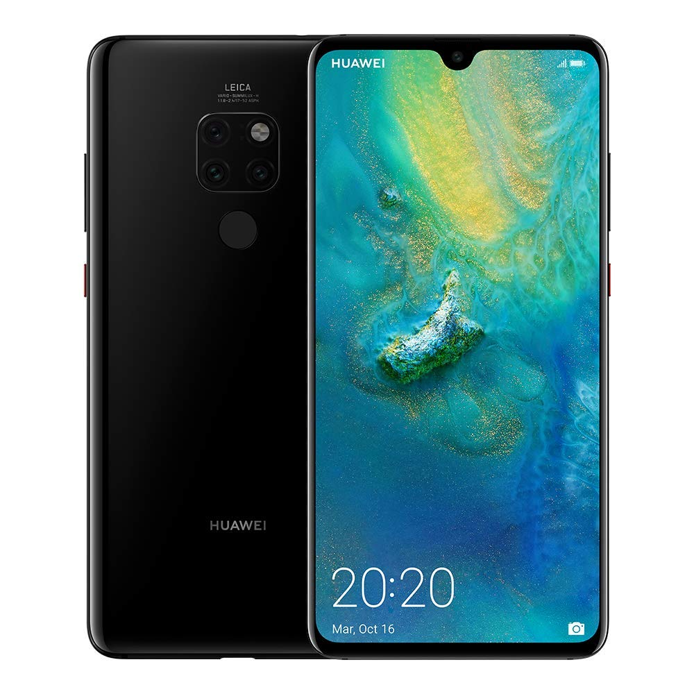 Huawei Mate 20 128 GB 6.53-Inch – Ultra Wide Angle Lens – UK Version