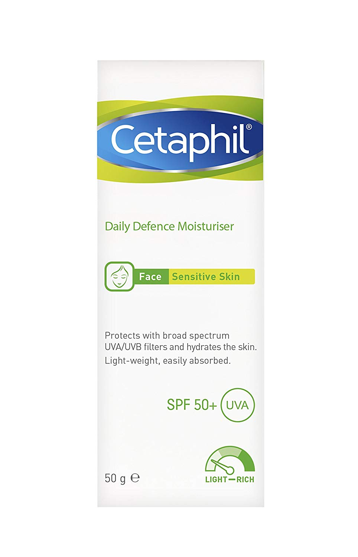 Cetaphil Daily Defence Moisturiser with SPF 50 Plus