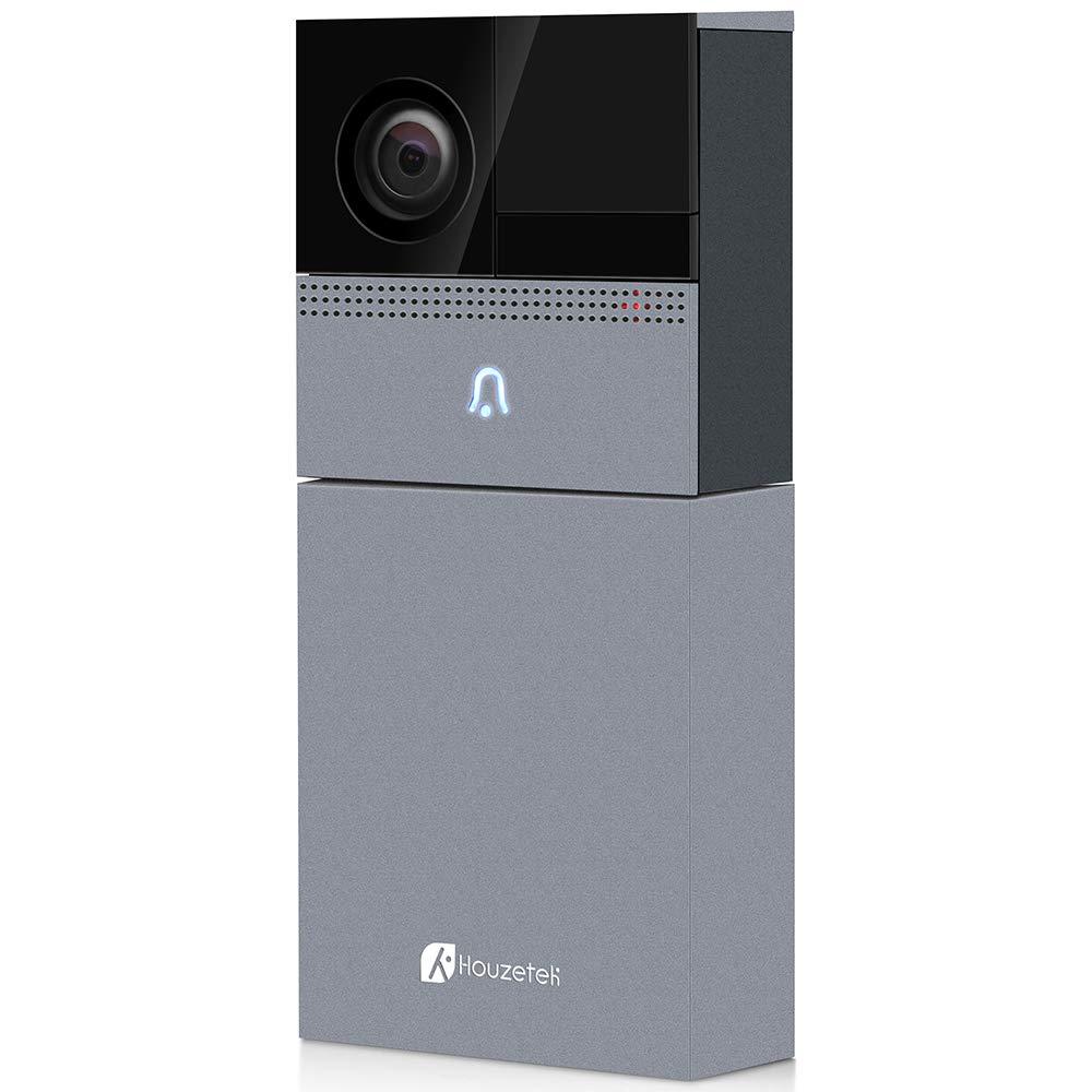 WiFi Smart Video Doorbell Camera, Houzetek Wireless Door Bell 720P HD Home Security Doorbell Camera