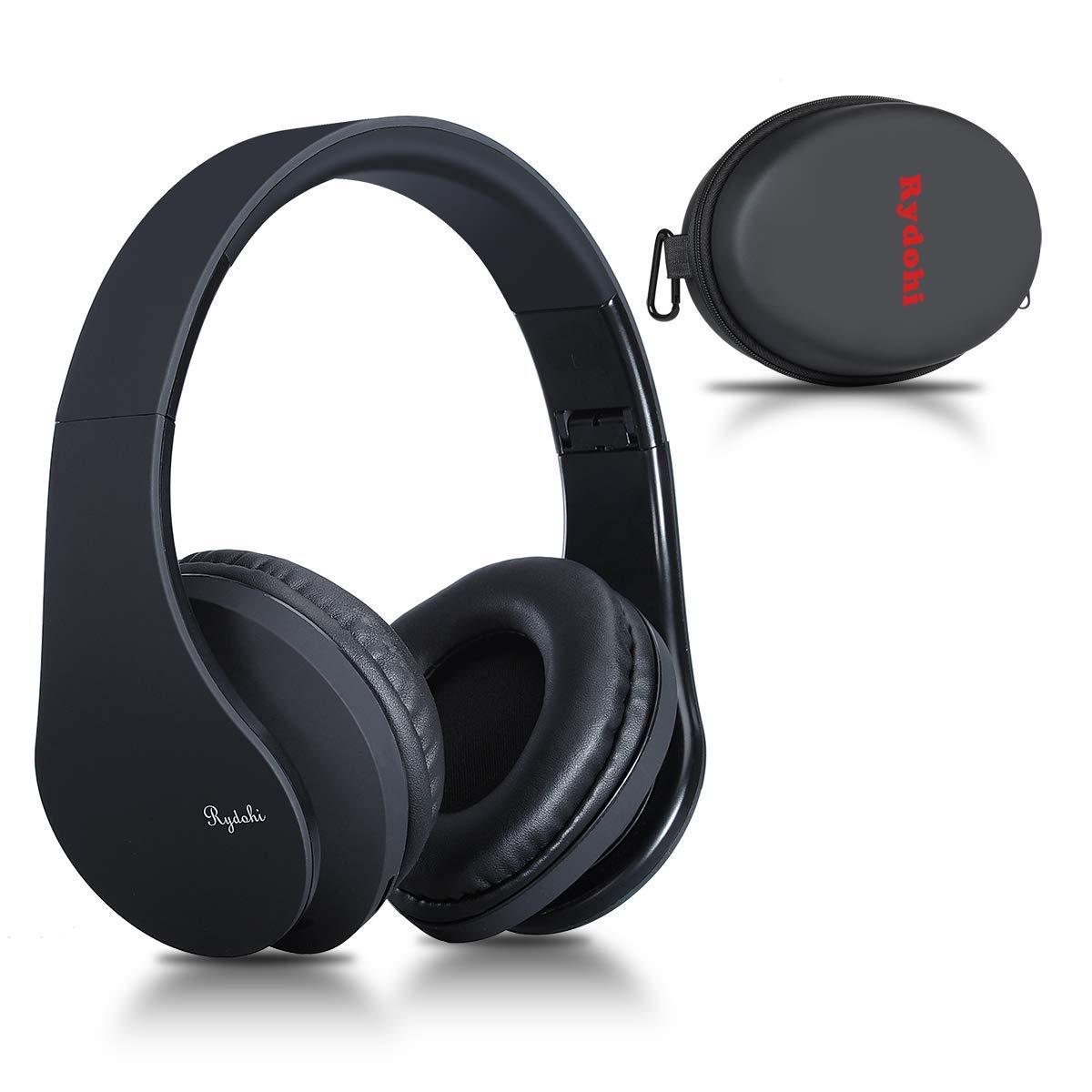 Rydohi Wireless Bluetooth Headphones Over Ear, Hi-Fi Stereo Headset with Deep Bass
