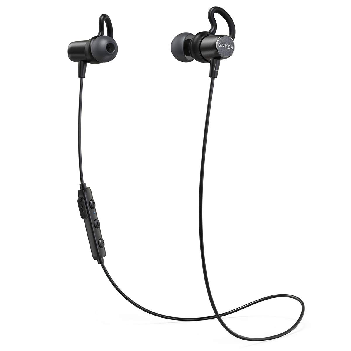 Anker In Ear Magnetic Headphones with 6 Hours Playing Time/Waterproof IPX4/