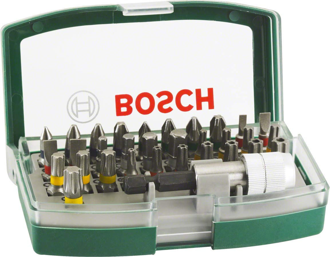 Bosch Screwdriver Bit Set, 32 Pieces