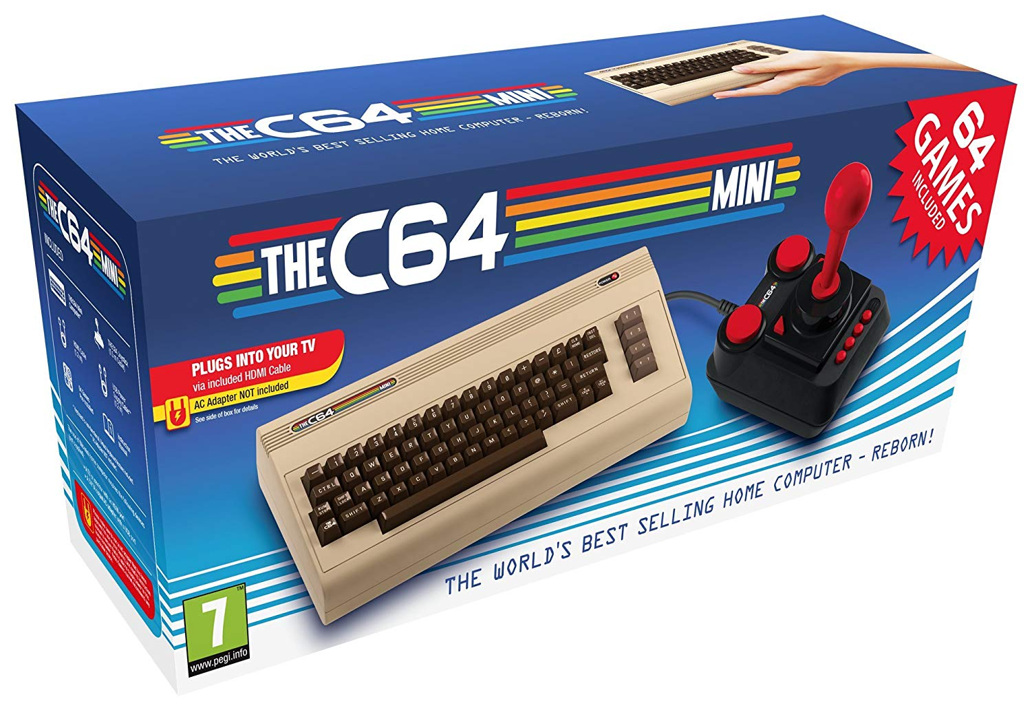 The Commodore 64 C64 Mini Console THEC64 Mini