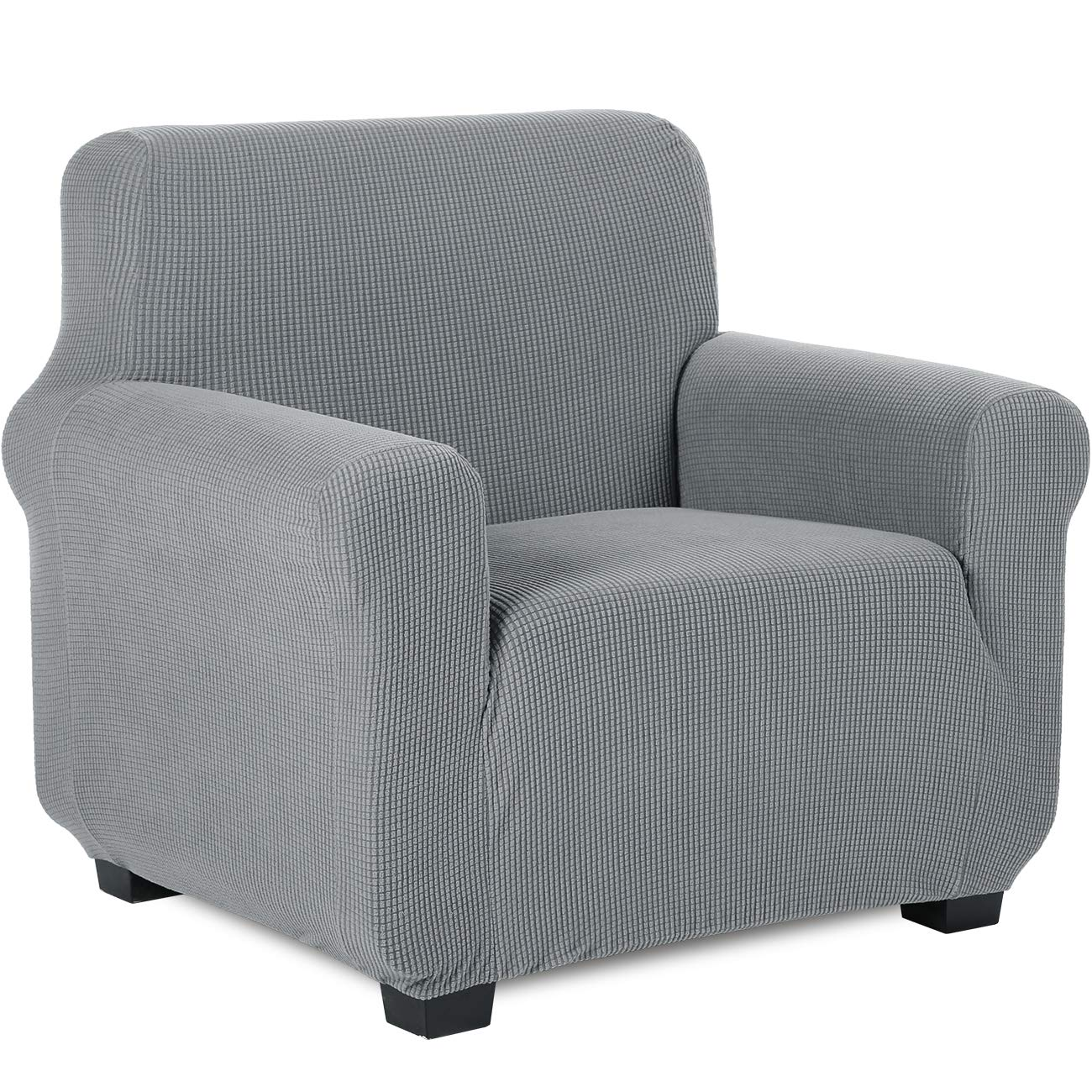 TIANSHU Armchair Slipcovers, Sofa Covers, Couch covers, Pet Covers(Chair, Light Gray)
