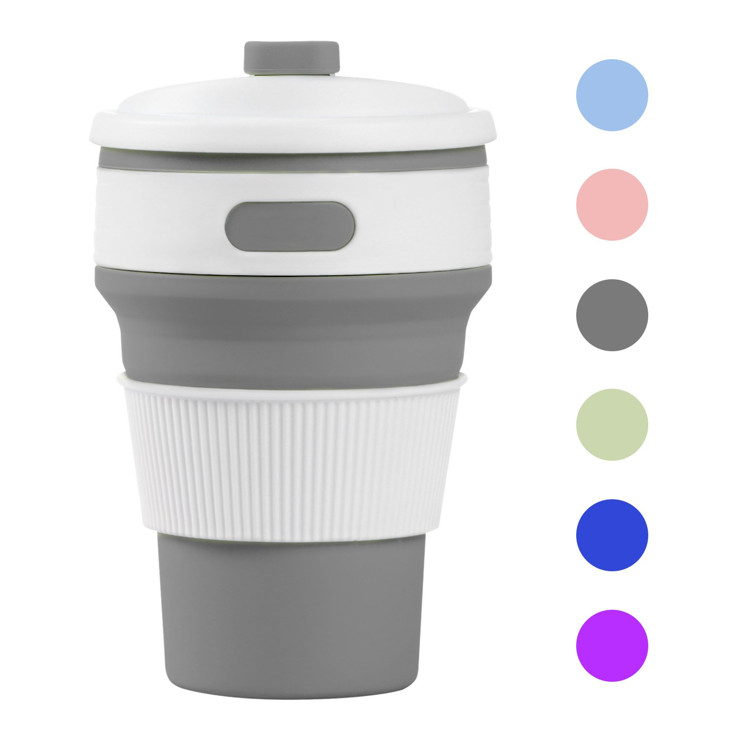 Prochive Collapsible Silicone Lightweight Coffee Cup