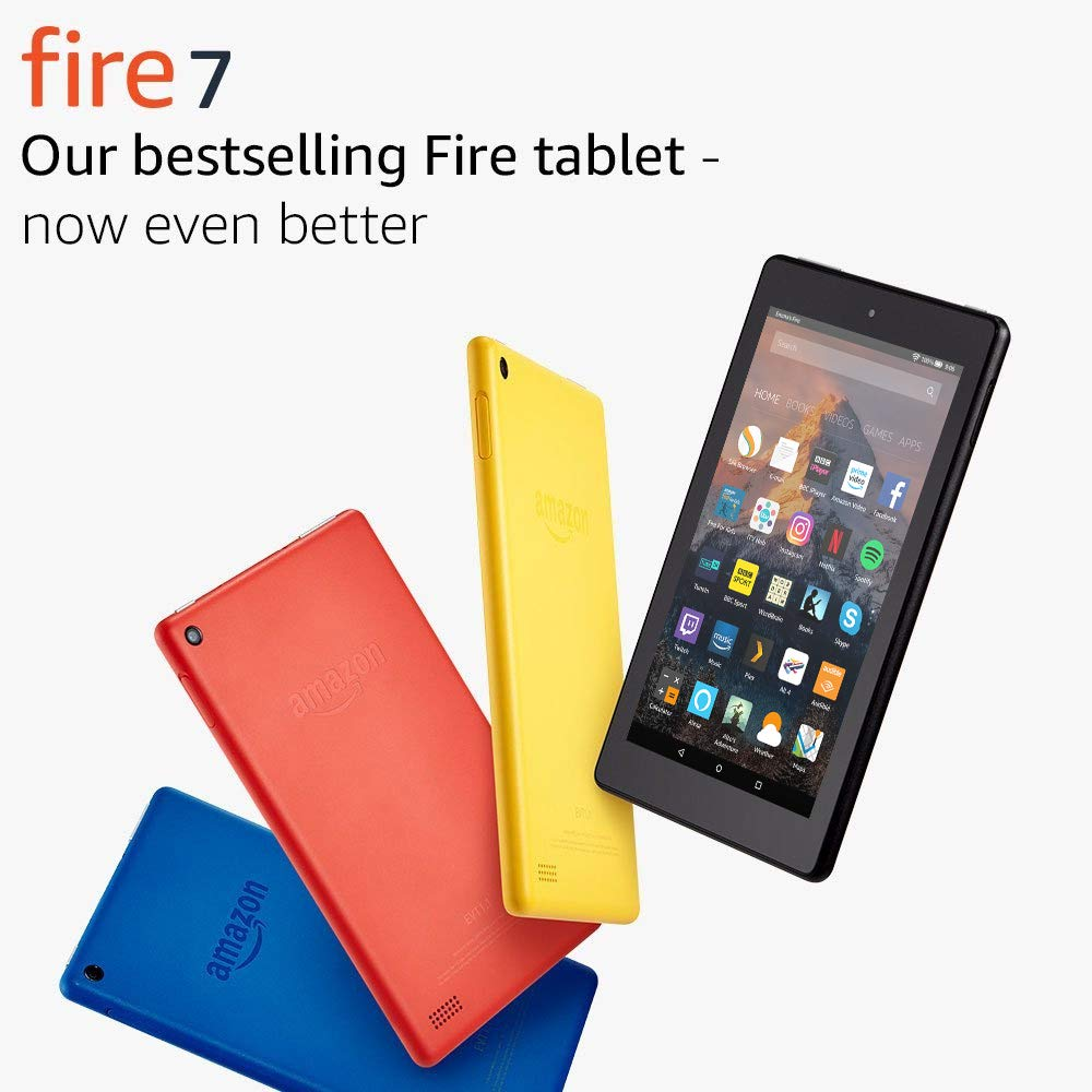 Fire 7 Tablet, 16 GB, Black