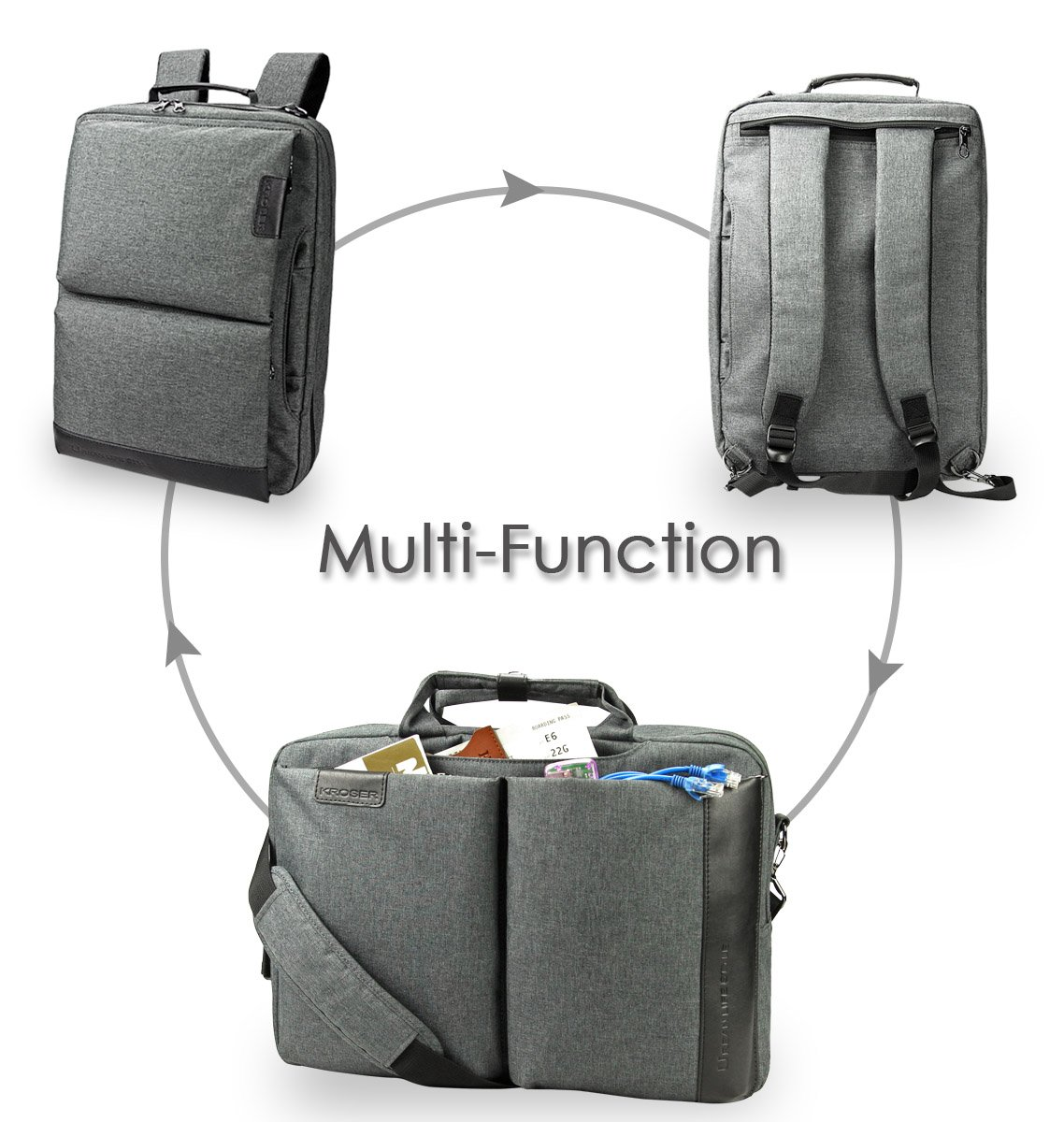 70% off Multi-Function 2 in 1 Computer Backpack Rucksack Urban Laptop Bag