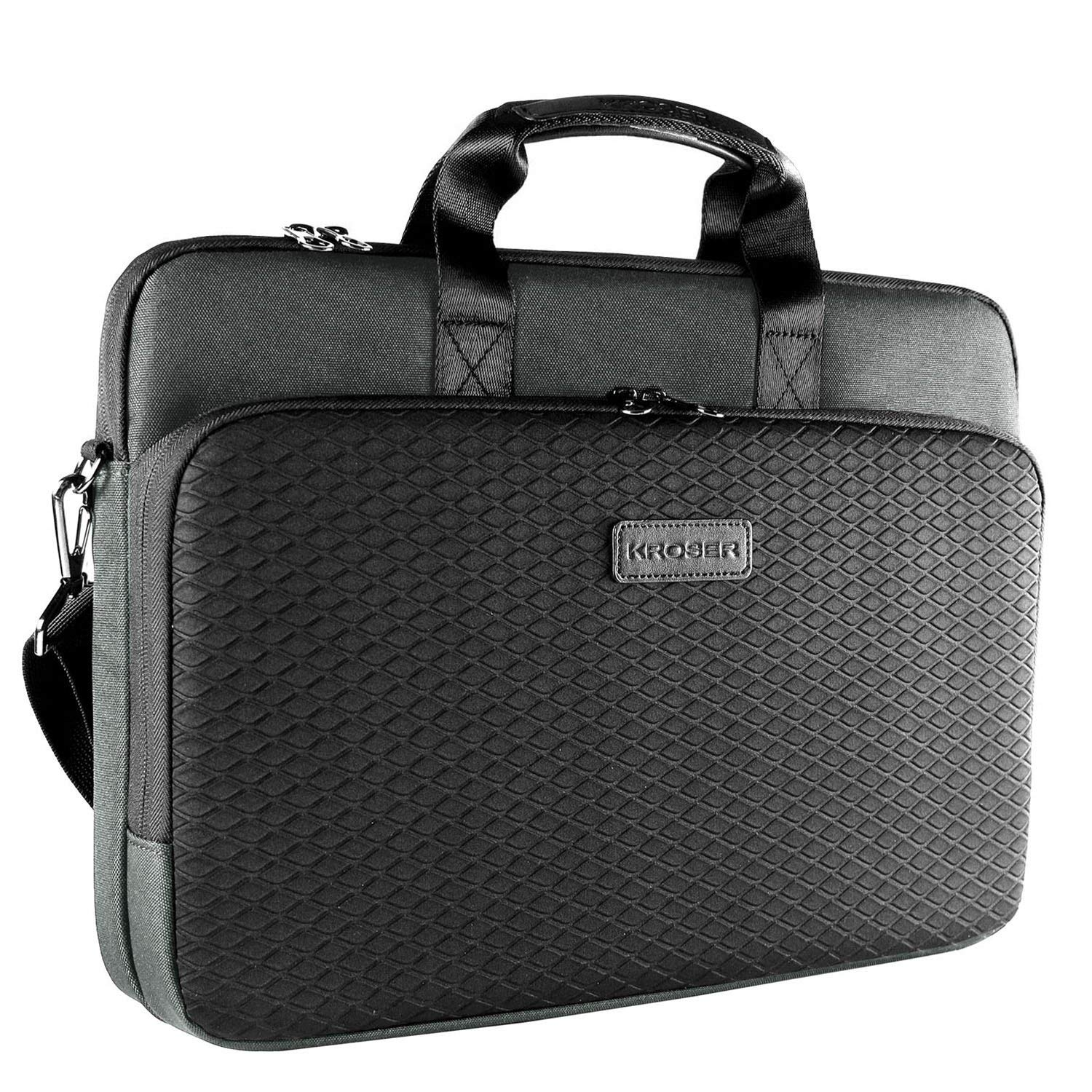 60% off KROSER Laotop Bag Laptop Briefcase 15.6 Inch Shoulder Messenger Bag Water-Repellent Business Bag Laptop Sleeve Case