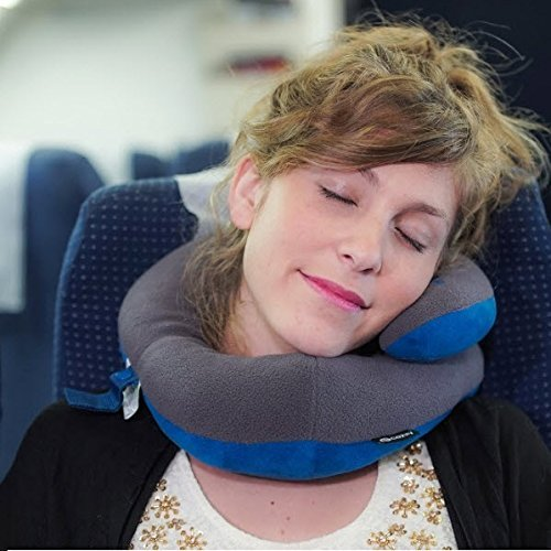 BCOZZY Chin Supporting Travel Pillow- Stops The Head from Falling Forward